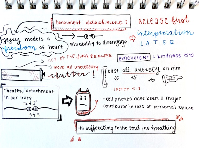 Sketchnote 3 John Eldredge Get Your Life Back. Scott Anderson Blog.