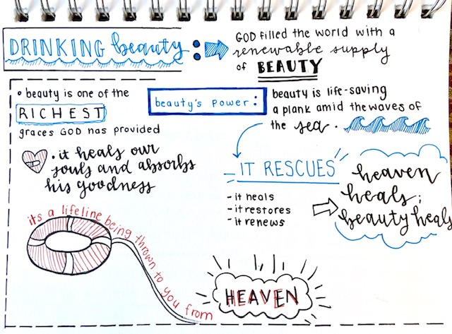 Sketchnote 5 John Eldredge Get Your Life Back. Scott Anderson Blog.
