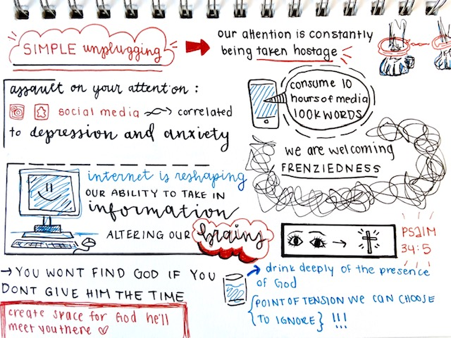 Sketchnote 6 John Eldredge Get Your Life Back. Scott Anderson Blog.